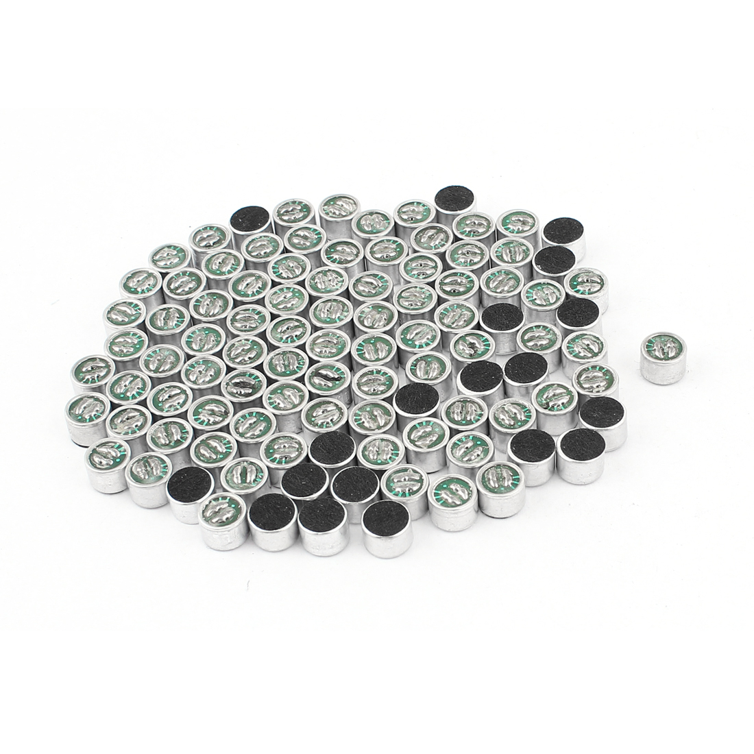 100pcs 9mm x 7mm SMD MIC Electret Microphone Condenser Pickup