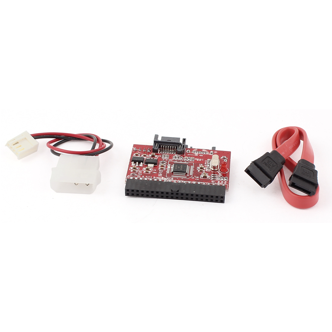 Hard Driver Bidirectional 40Pin IDE Port to 7pin SATA Converter Adapter