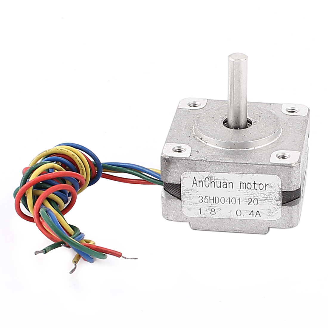 35X35mm Square 4 Wire 1.8 Degree 0.4A CNC Stepping Stepper Motor
