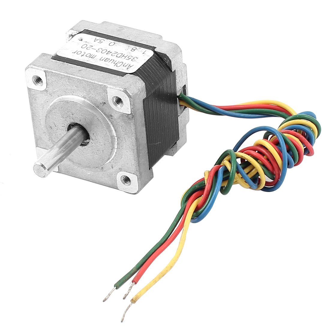 35X35mm Square 4 Wire 1.8 Degree 0.5A CNC Stepping Stepper Motor