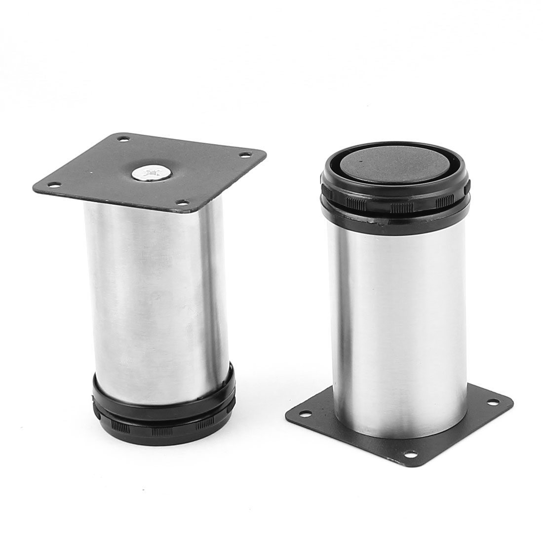 10cm Height Stainless Steel Chair Cabinet Support Adjustable Leg Feet 2Pcs