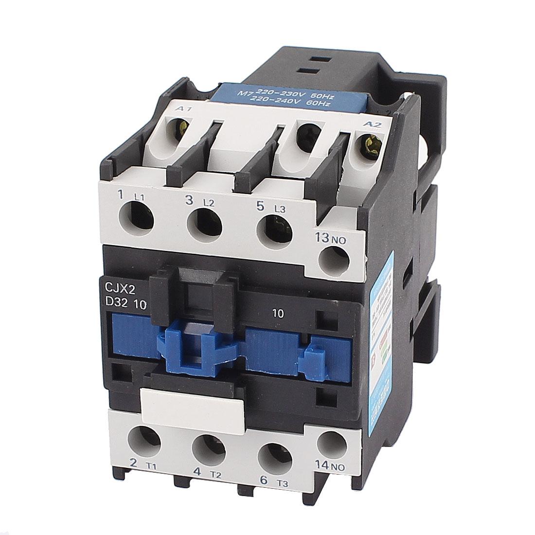 CJX2-3210 220V 40A Motor Control 3 Poles NO Coil AC Contactor