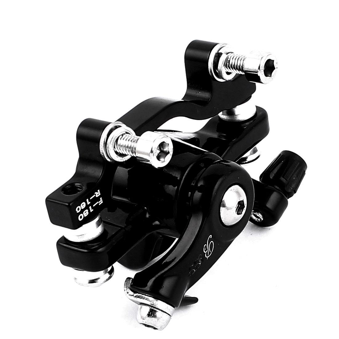Mountain Bicycle Bike Mechanical Rear Disc Brake Caliper Black