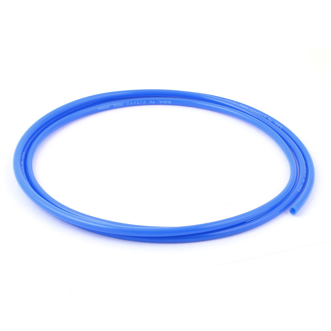 Polyurethane PU Pneumatic Air Tubing Pipe Hose 6mm x 4mm x 2M Blue