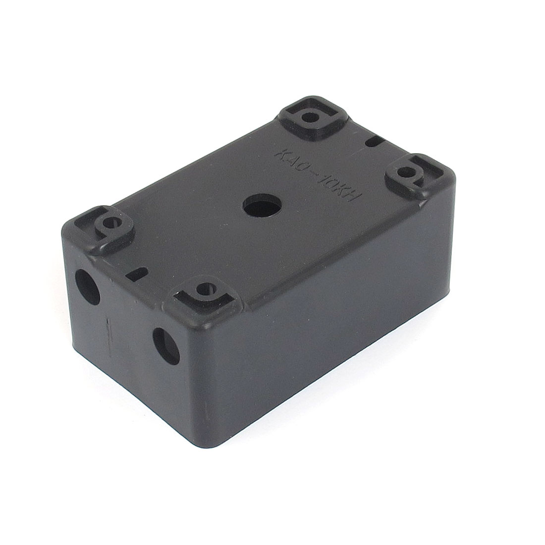 9cm x 5.5cm x 4cm Black Plastic Water Resistant Electrical Project Enclosure Case DIY Junction Box