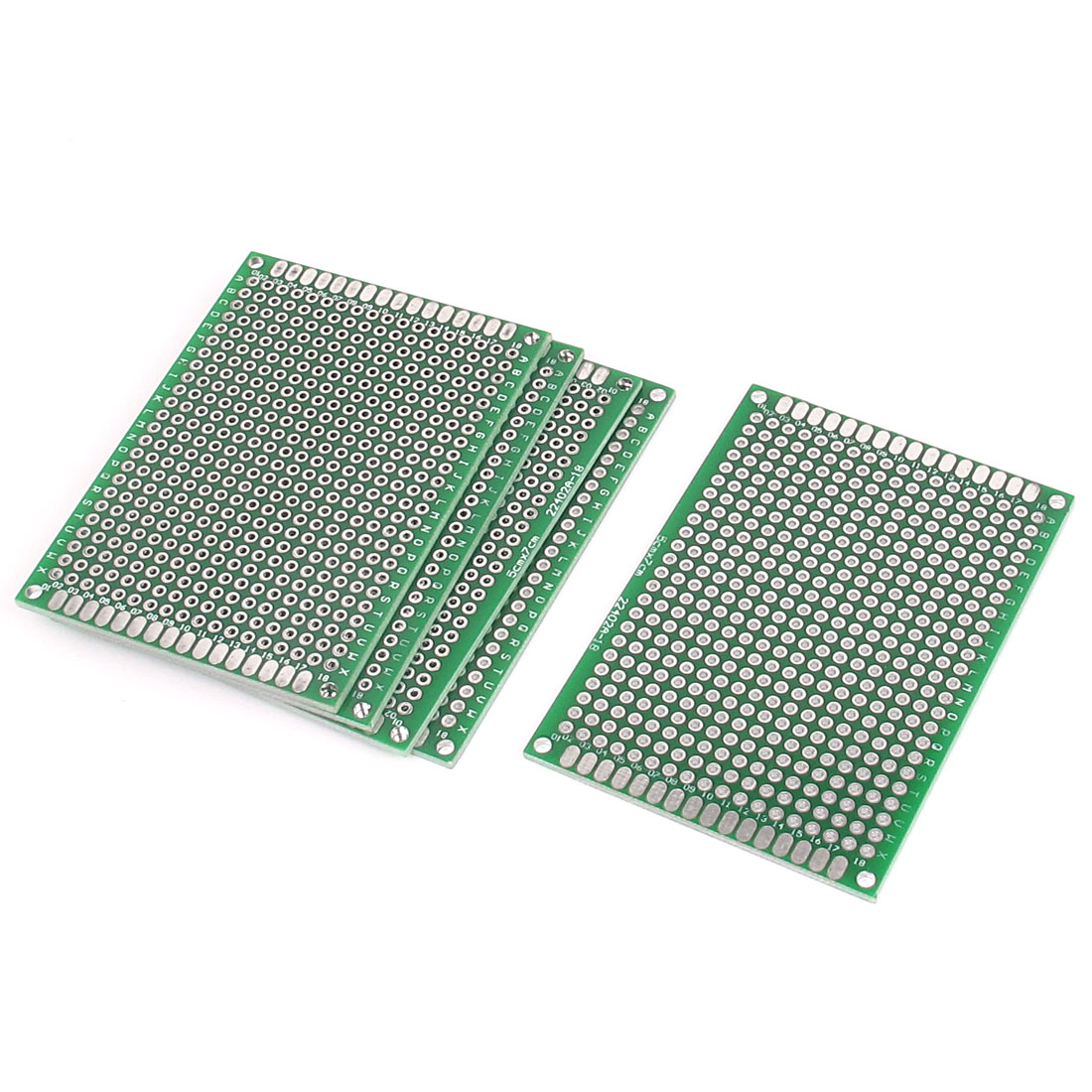 5pcs 5cmx7cm Double Sides Prototyping DIY Soldering Universal PCB Circuit Board Breadboard