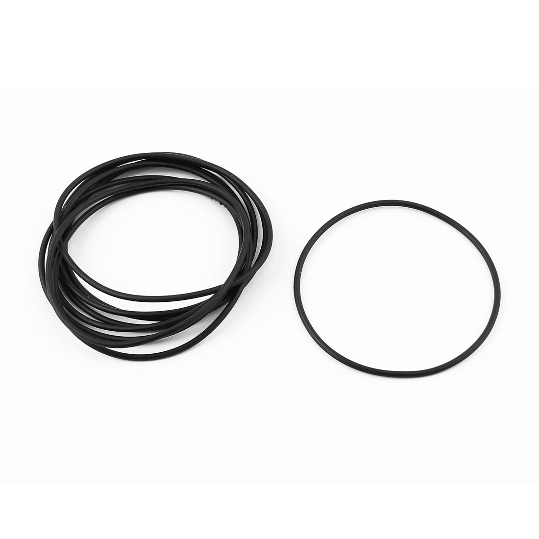 Equipment Engine Oil Cooler Adapter Rubber O Ring Seal Black 9pcs