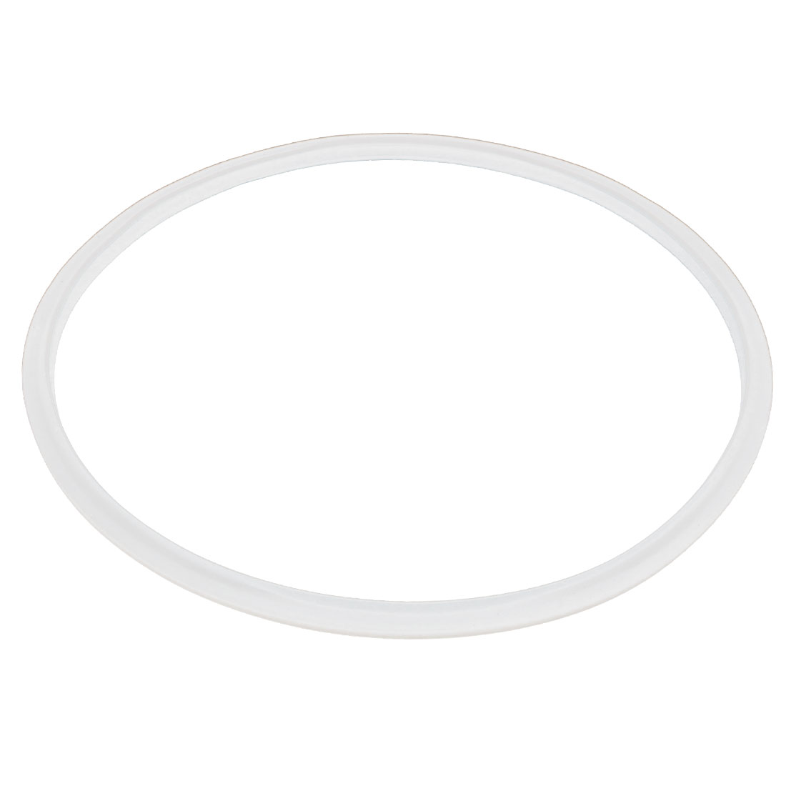 27cm Inner Dia Electric Pressure Cooker Replacement Gasket Seal Ring Clear White