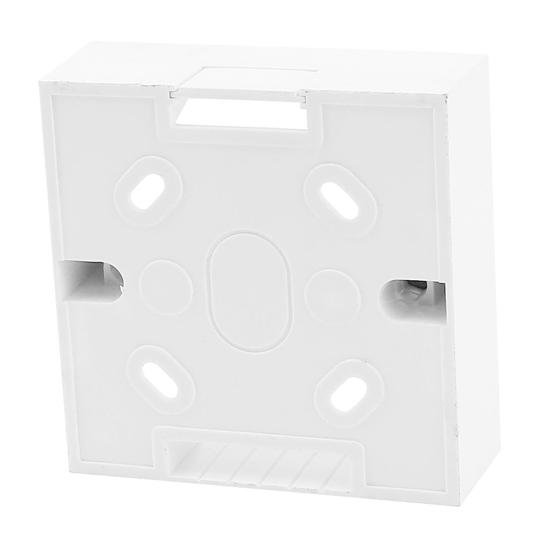 RJ45 Cat5e Cat6 Network Ethernet Socket Wall Mount Back Box Plate White