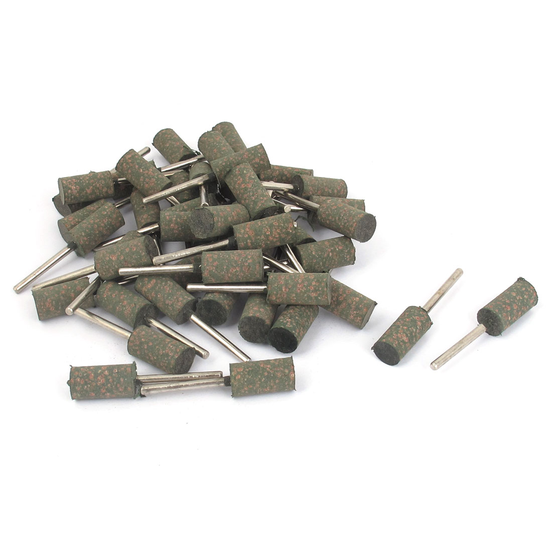 50pcs 9mm x 19mm Cylinder Head Grinding Sanding Polishing Polish Wheel Mounted Point