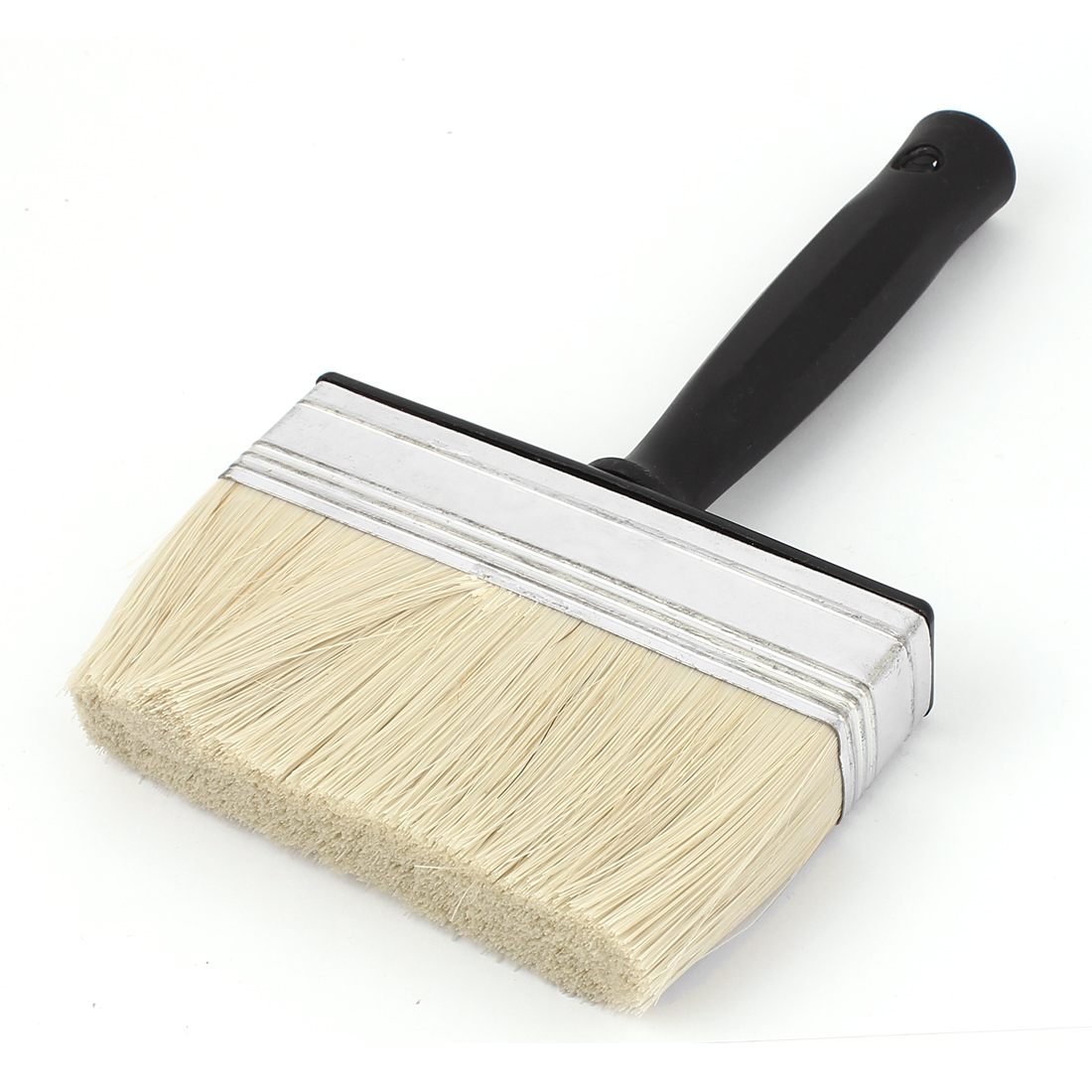 Plastic Handle Soft Bristle Flat Indoor Wall Paint Oil Painting Scrub Brush Tool