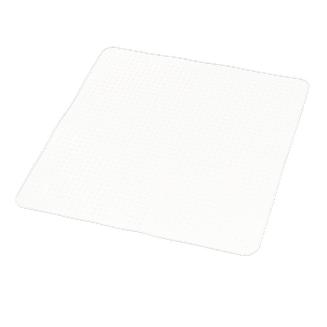 Home Kitchen Square Silicone Stretch Film Food Storage Seal Cover Wrap Lid Clear