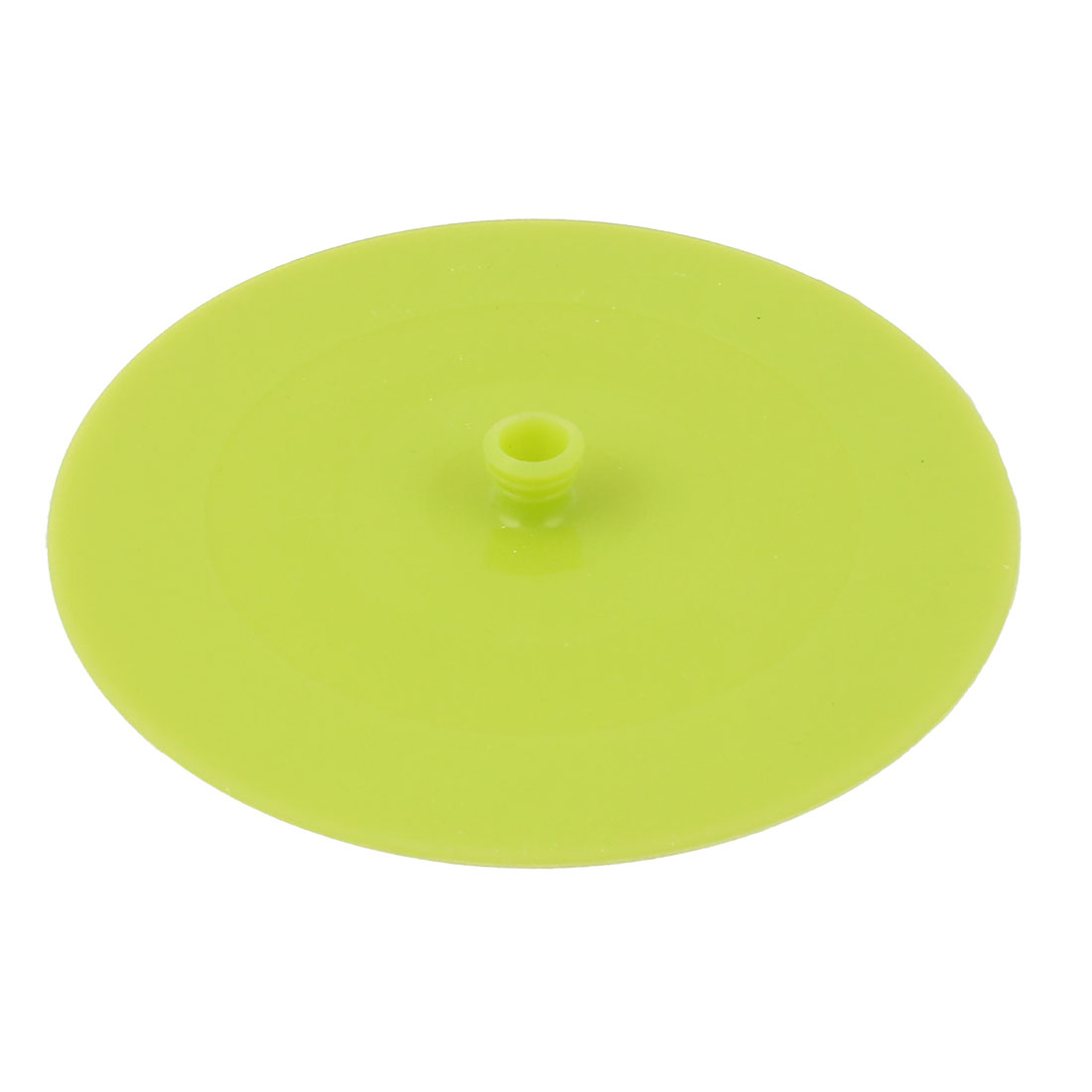 13.5cm Dia Silicone Cooking Food Storage Bowl Cover Wrap Suction Lid Green