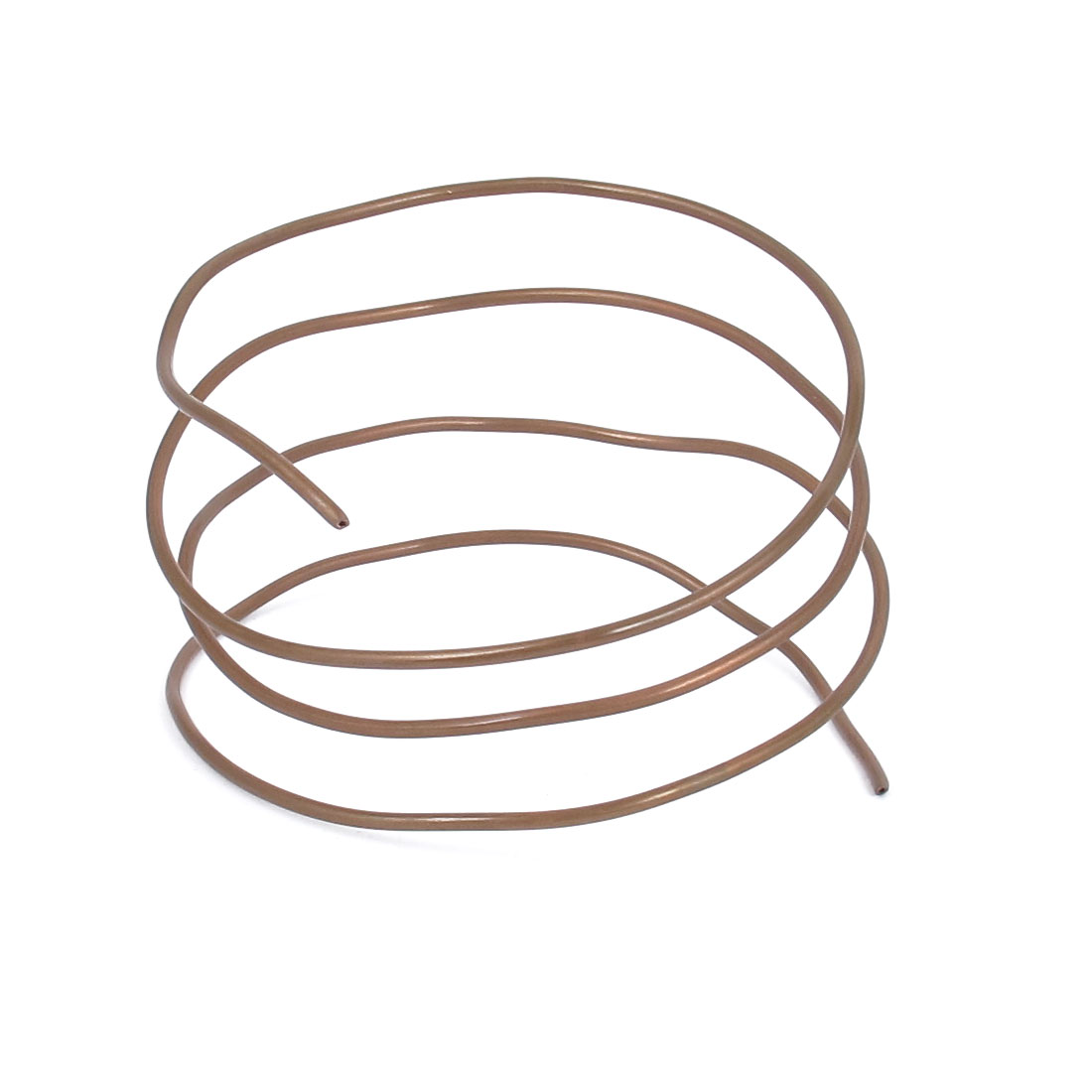 2.5mm Dia 90cm 3Ft Length Copper Tone Refrigerator Refrigeration freezer Tube Tubing Coil