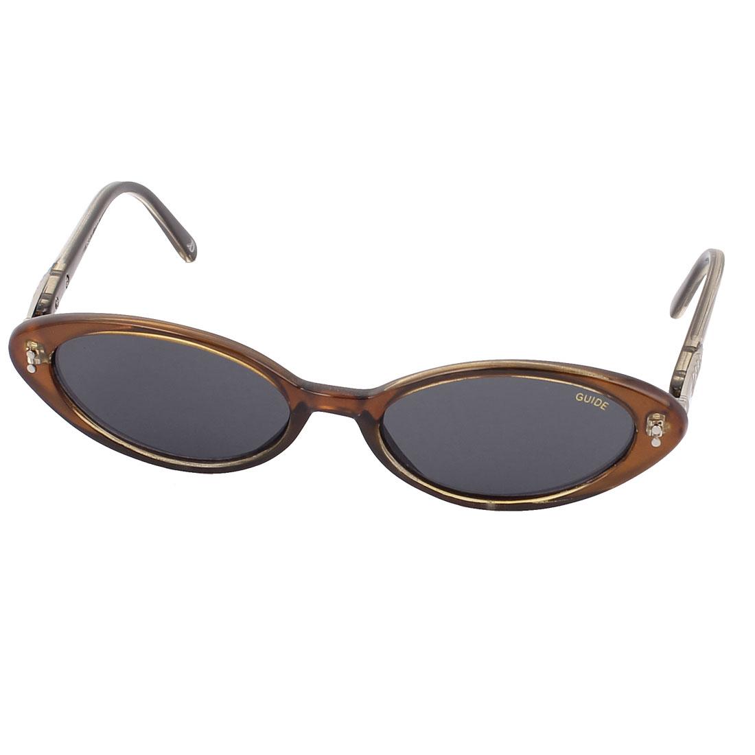 Ladies Full Frame Slim Sunglasses Black Lens Eyewear Glasses