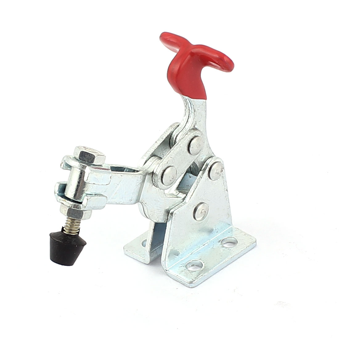 13005 Red Plastic Covered Handle 68Kg Vertical Toggle Clamp Hand Tool