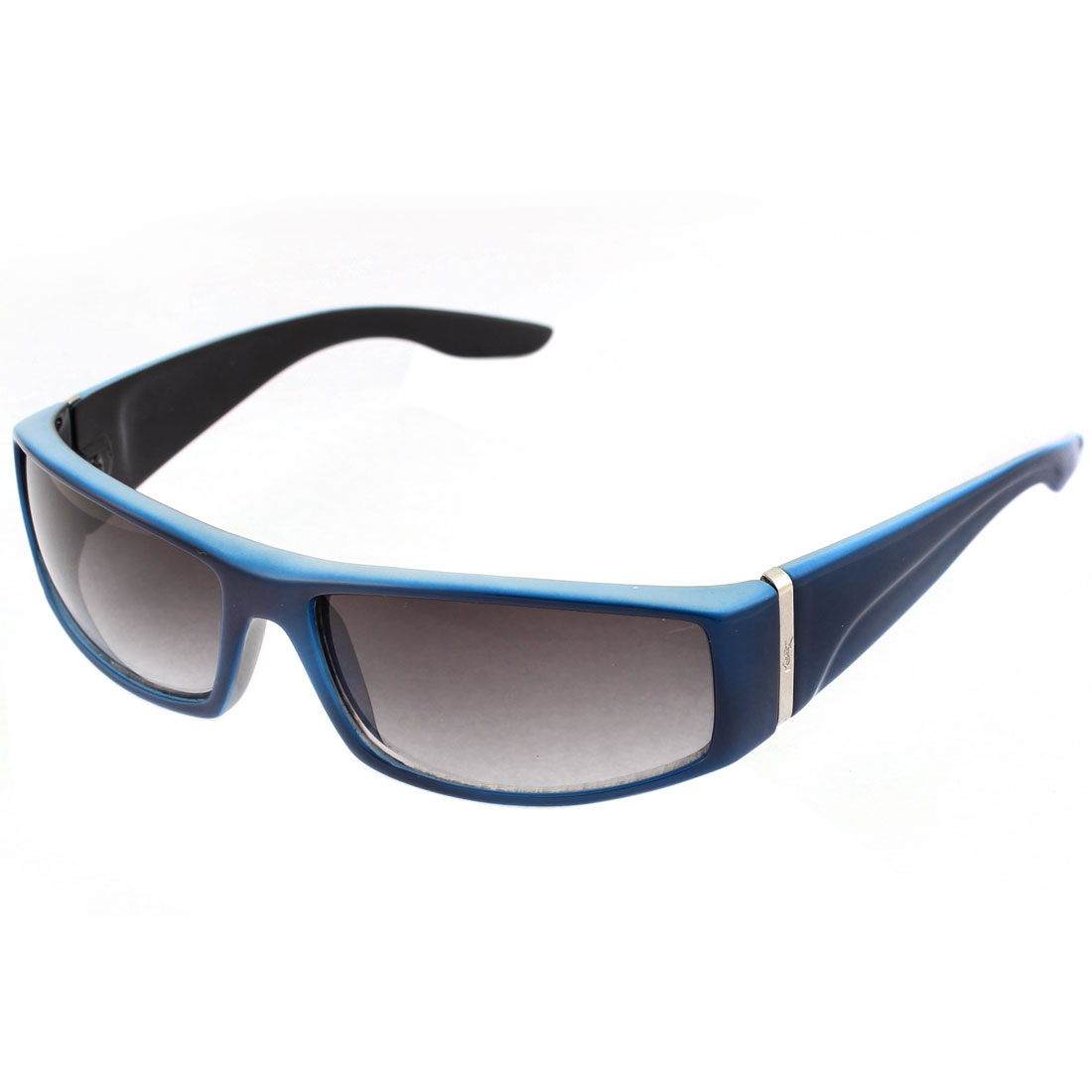 Black Blue Full Frame Single Bridge Sunglasses for Women Men
