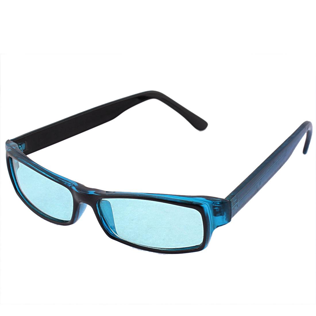 Rectangular Shape Green Lens Outdoor Sports Glasses Sunglasses for Men Women