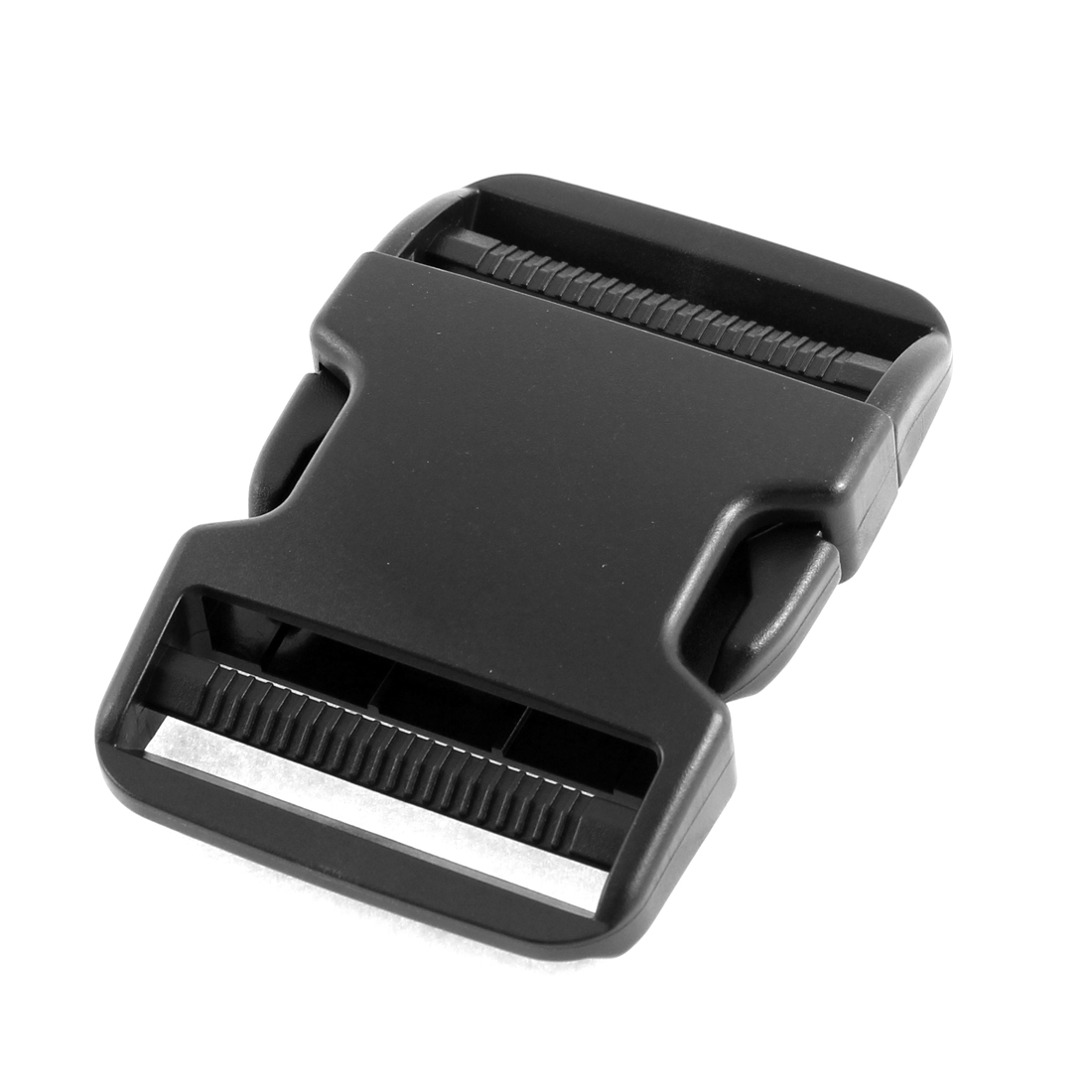 Plastic Clasp Side Release Buckle Black 2 Inches Webbing Strap