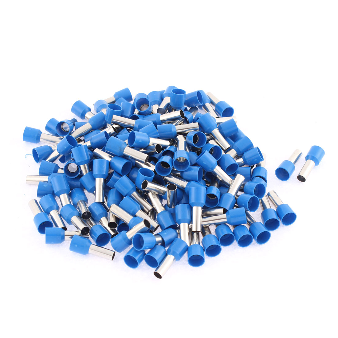 Tube Type Insulated Cable Wire Ends Terminals E10-12 8AWG 150Pcs