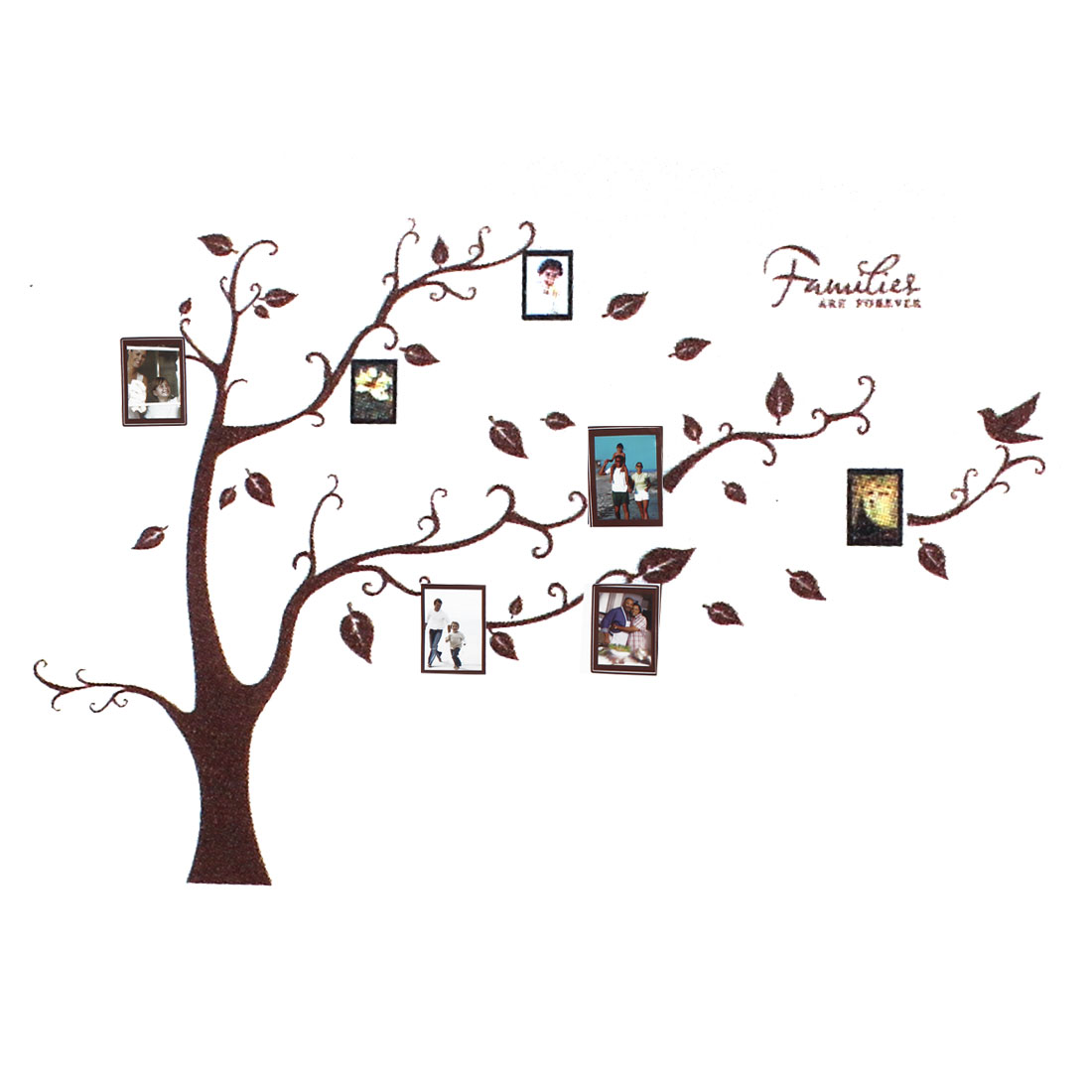 Vinyl Families Tree Branch Trunk Wall Art Sticker Decal Home Decor Mural