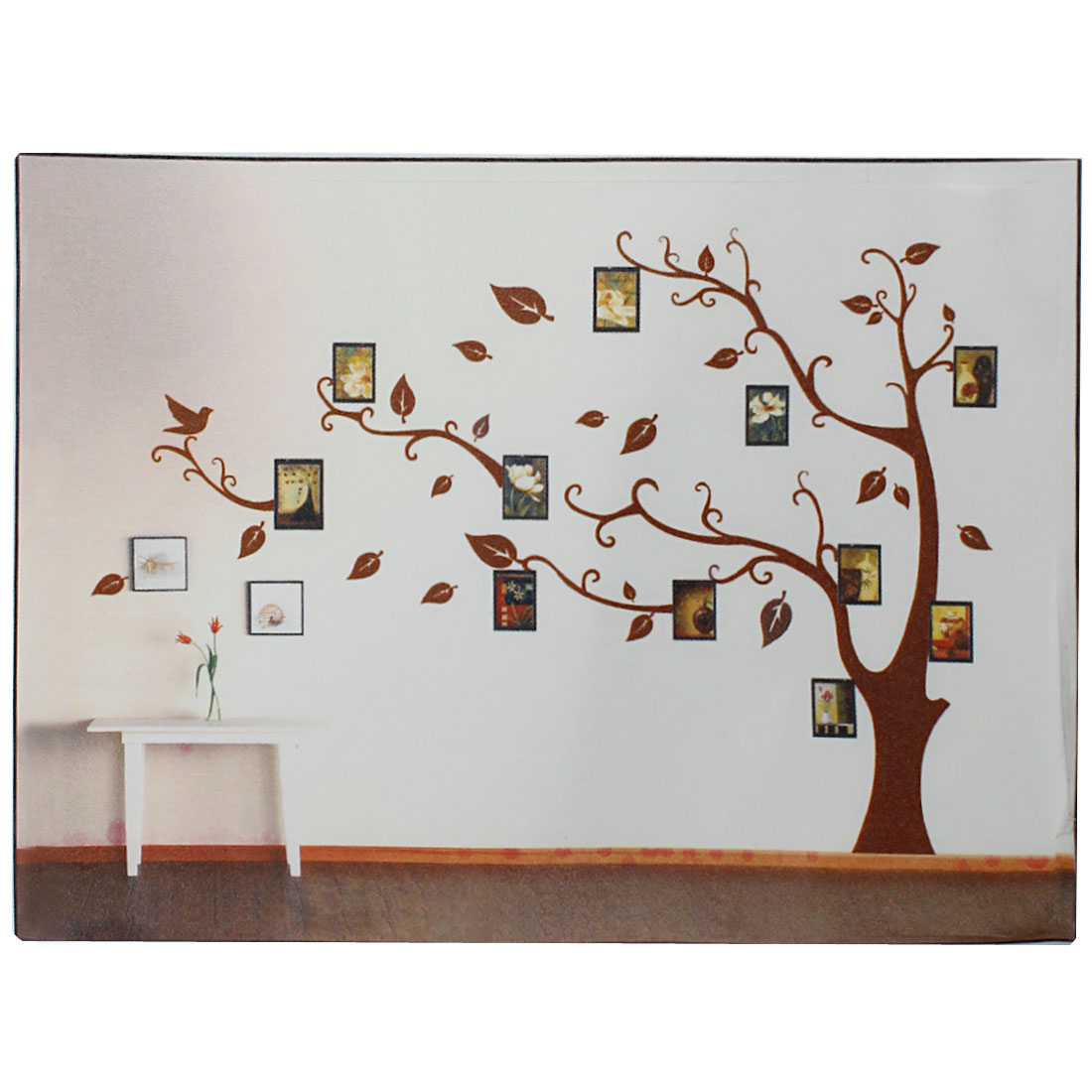 Tree Branch Trunk Wall Art Sticker Decal Home Decor Mural Coffee Color