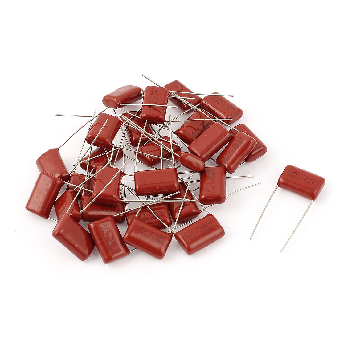 28pcs 104J 630V 0.1uF Electronic Components Metallized Polyester Film Capacitors