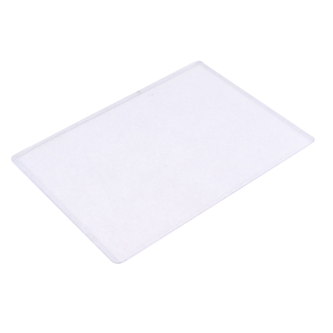 Plastic B6 Paper Picture Photo Contract Protector Holder Cover Case