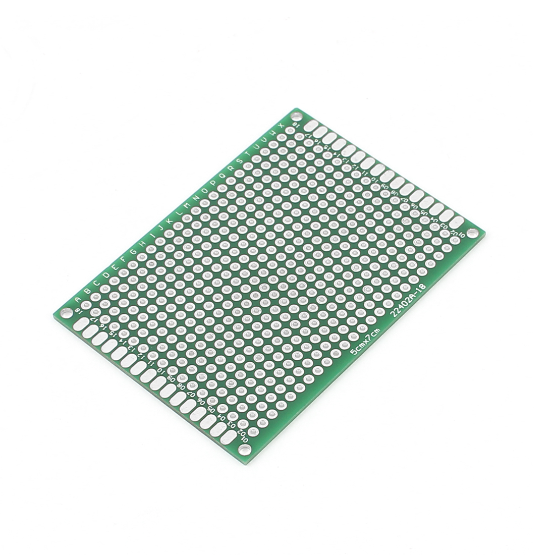 Double-Side Prototype Solderable Paper Universal PCB Board 5x7cm