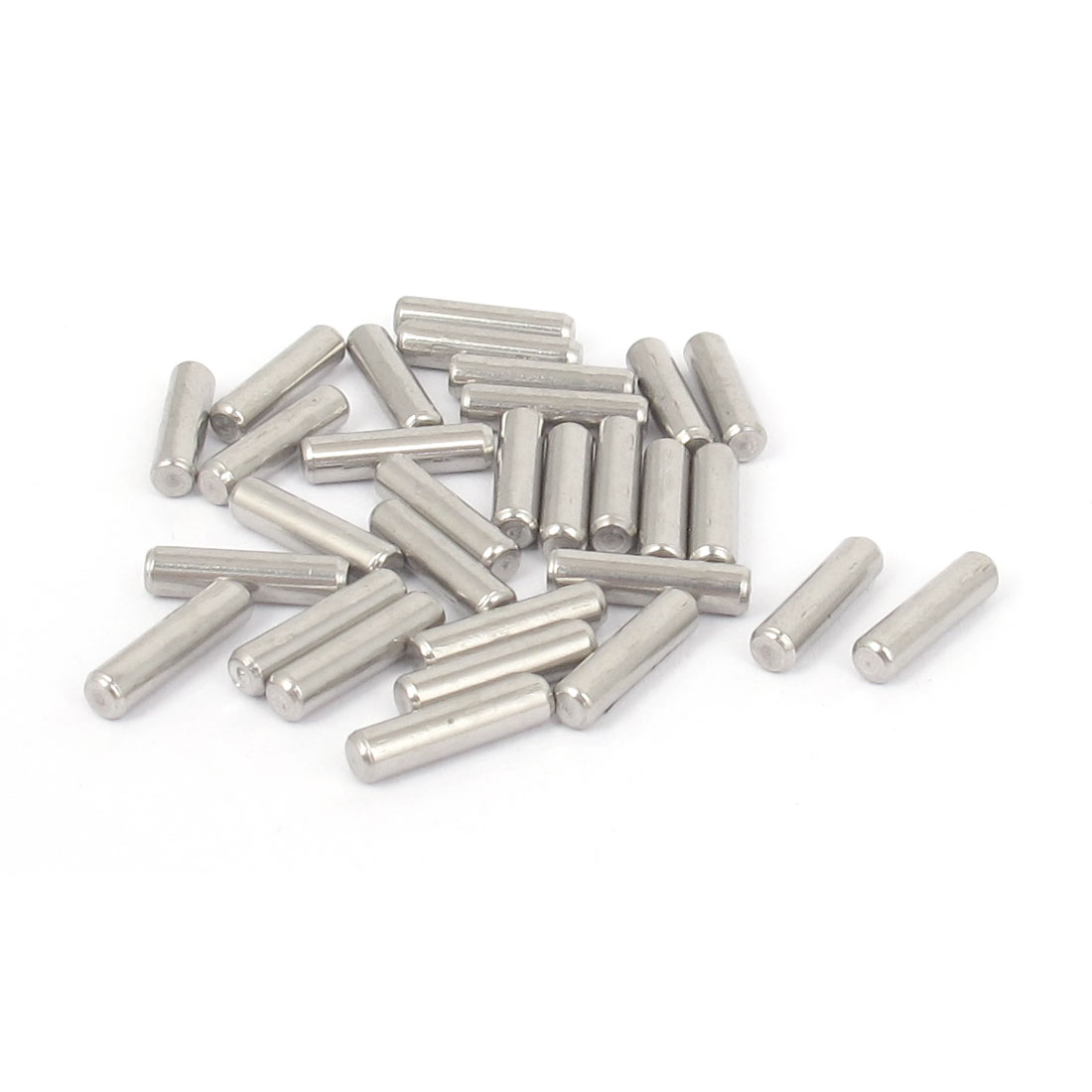 3mmx12mm 304 Stainless Steel Parallel Dowel Pins Fastener Elements 30pcs