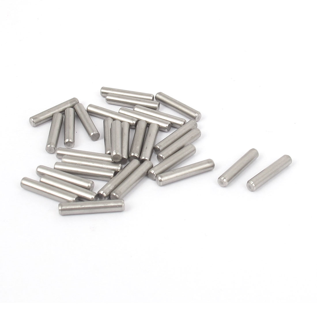 3mmx16mm 304 Stainless Steel Parallel Dowel Pins Fastener Elements 30pcs