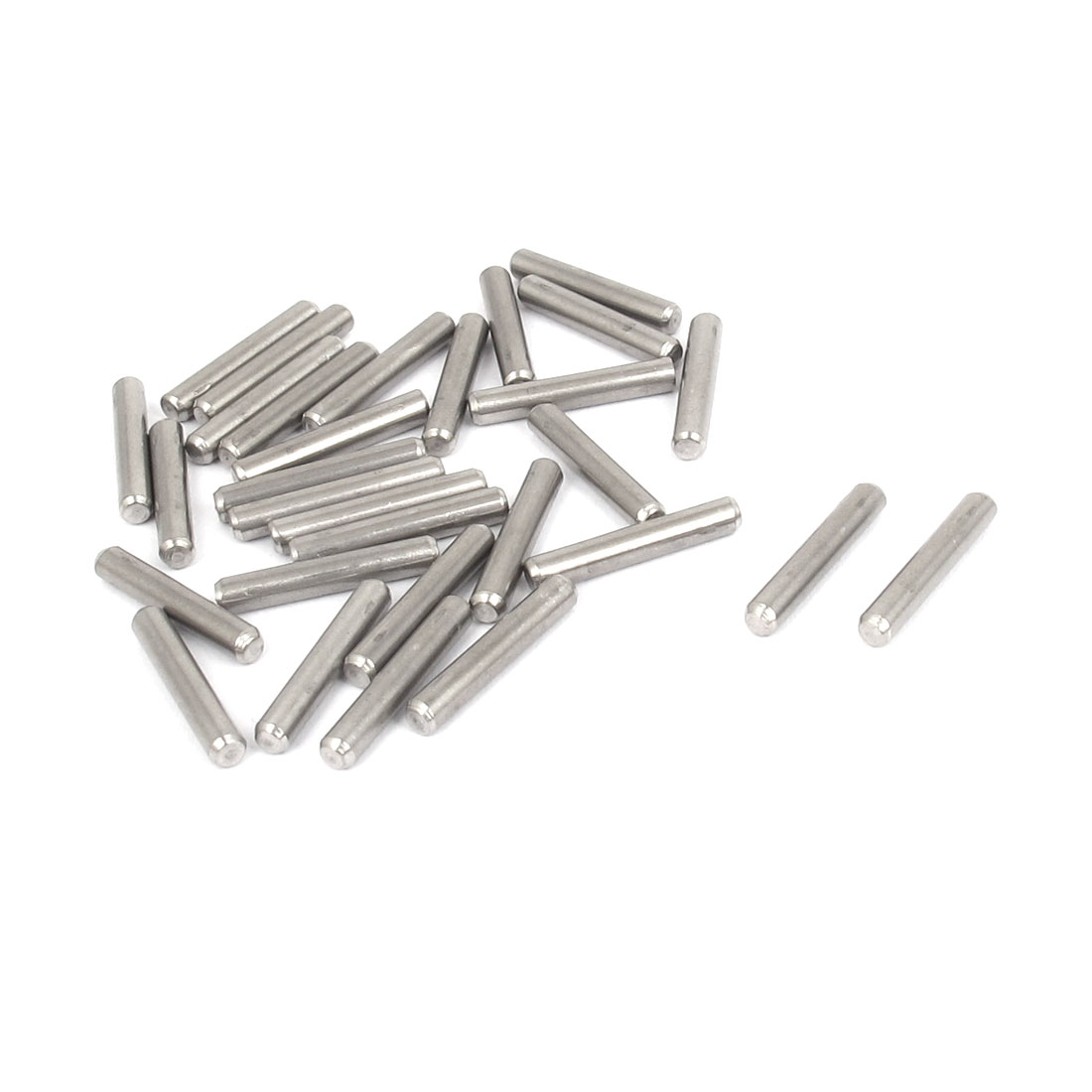 3mmx18mm 304 Stainless Steel Parallel Dowel Pins Fastener Elements 30pcs