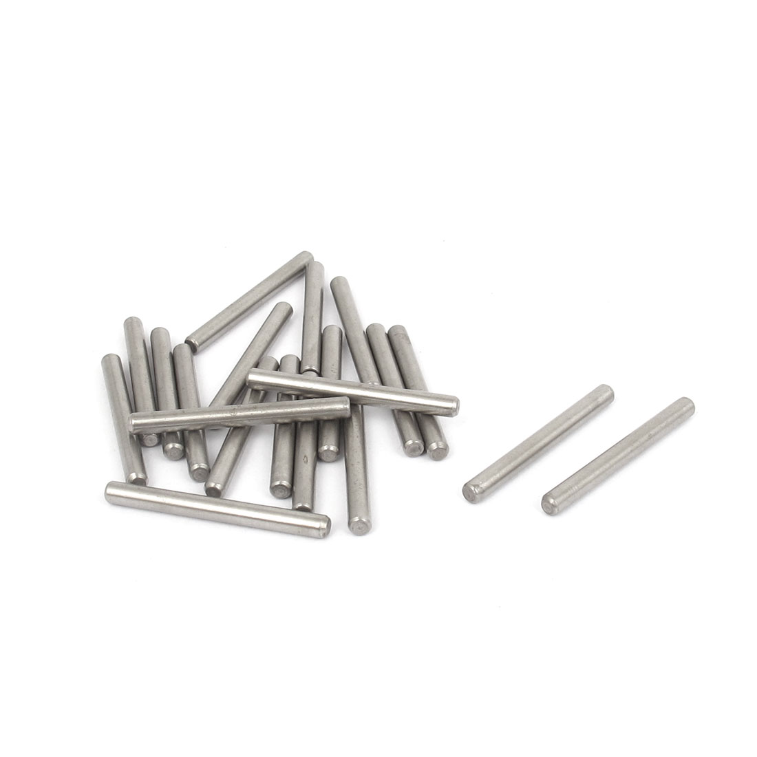 3mmx30mm 304 Stainless Steel Parallel Dowel Pins Fastener Elements 20pcs