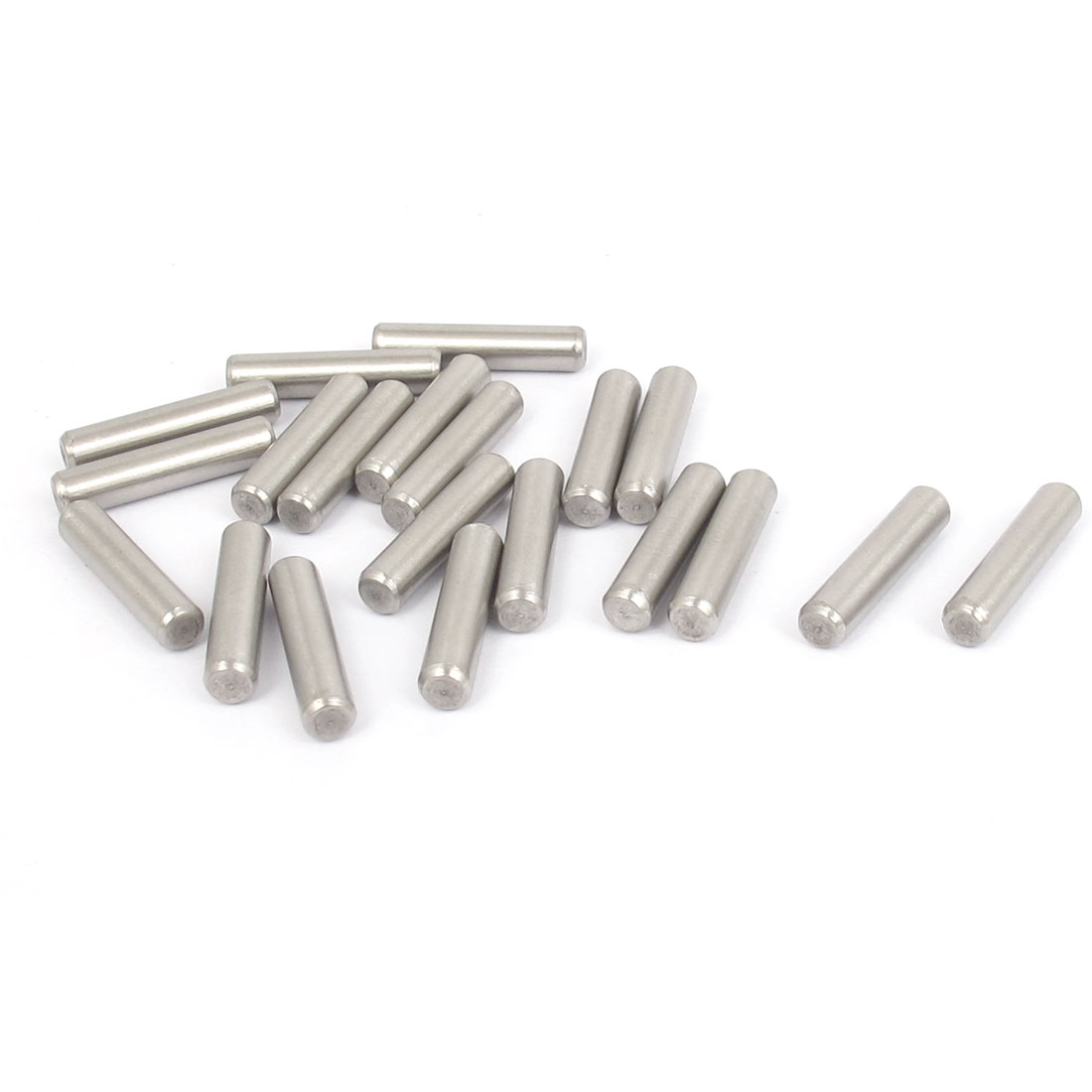 4mmx18mm 304 Stainless Steel Parallel Dowel Pins Fastener Elements 20pcs