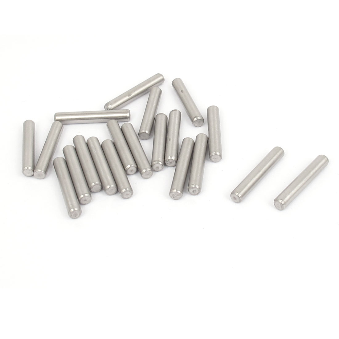 4mmx25mm 304 Stainless Steel Parallel Dowel Pins Fastener Elements 20pcs