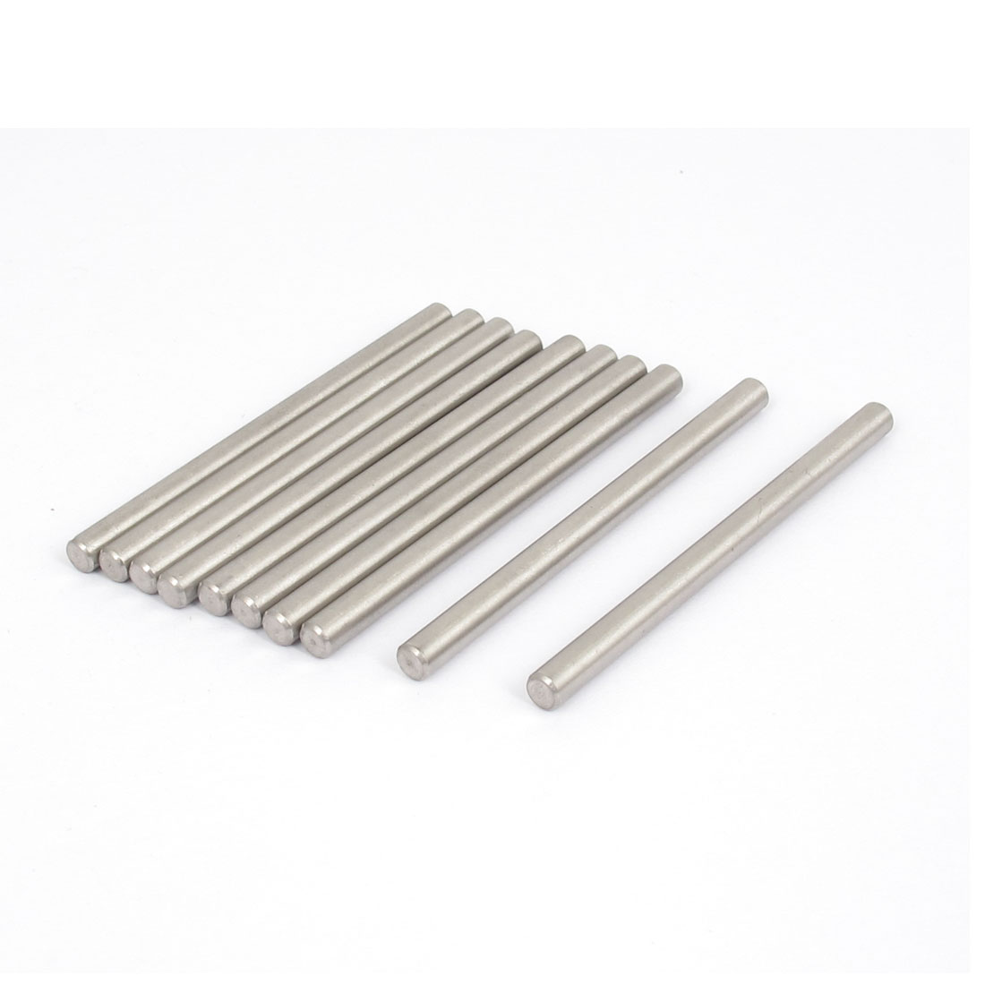 4mmx60mm 304 Stainless Steel Parallel Dowel Pins Fastener Elements 10pcs