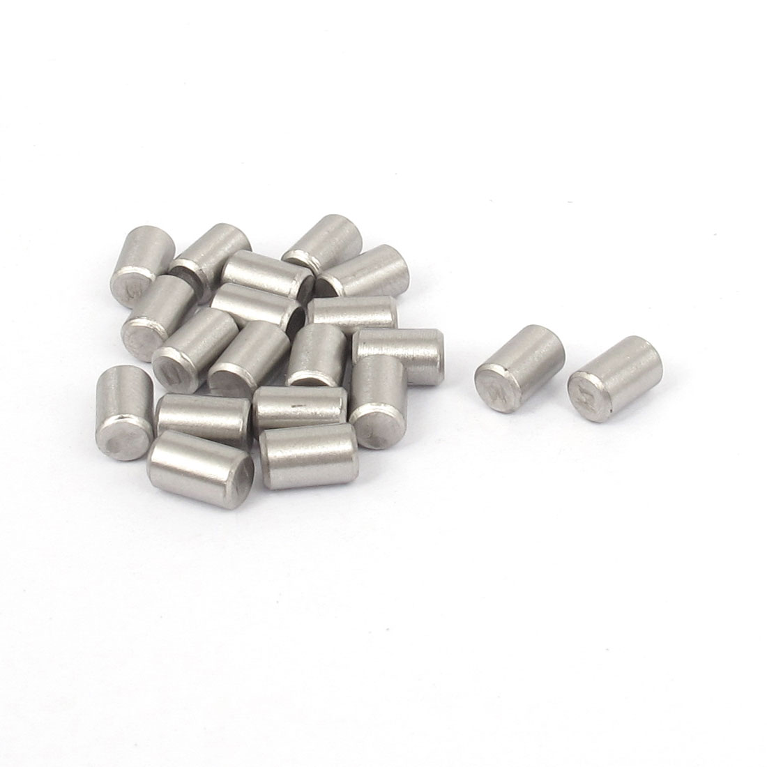 5mmx8mm 304 Stainless Steel Parallel Dowel Pins Fastener Elements 20pcs