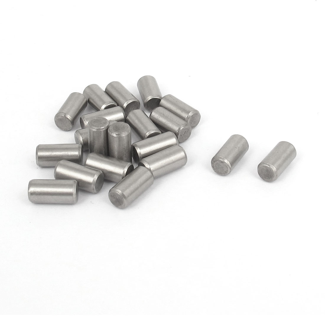 5mmx10mm 304 Stainless Steel Parallel Dowel Pins Fastener Elements 20pcs