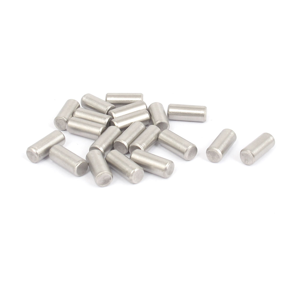 5mmx12mm 304 Stainless Steel Parallel Dowel Pins Fastener Elements 20pcs