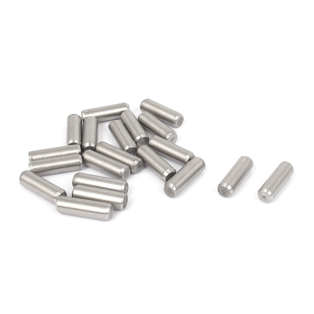 5mmx16mm 304 Stainless Steel Parallel Dowel Pins Fastener Elements 20pcs