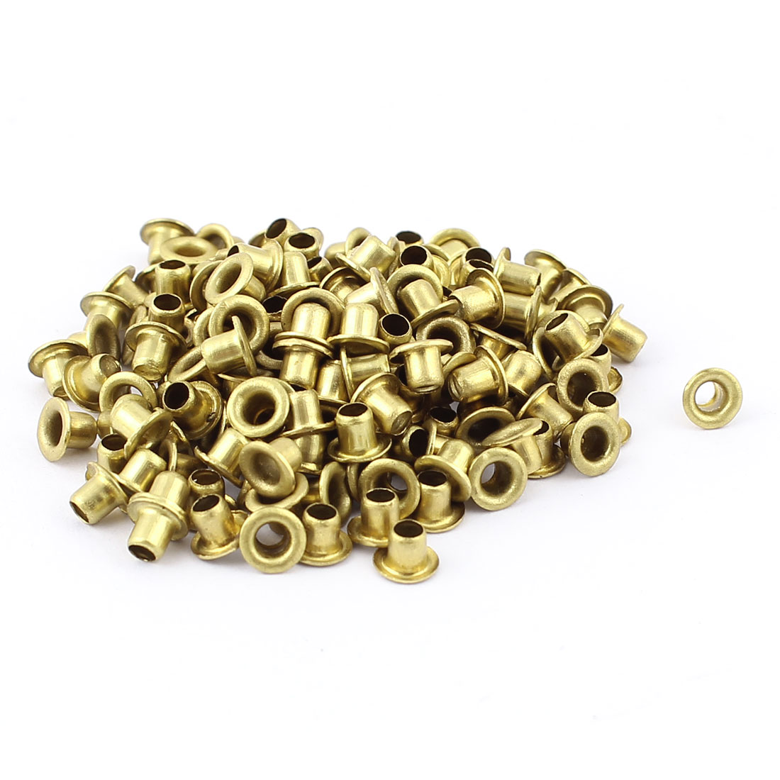 200pcs M3x3 Copper Via Vias Plated Through Hole Rivets Hollow Grommets PCB Circuit Board