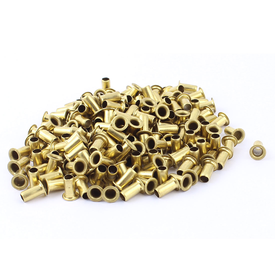 200pcs M5x10 Through Hole Rivets Hollow Grommets PCB Circuit Board