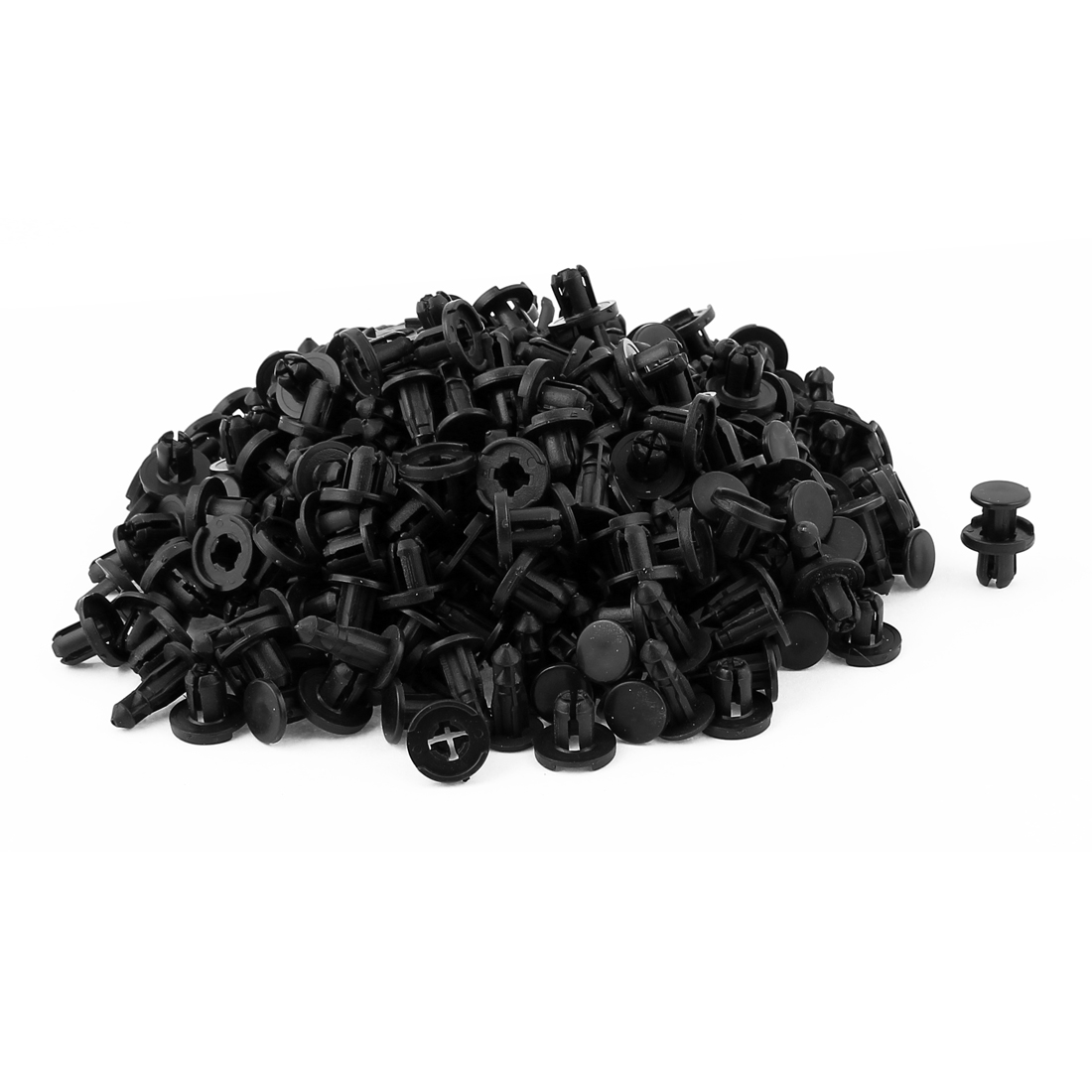 200pcs Push Type Retainer Fastener Rivet Clips 15mm