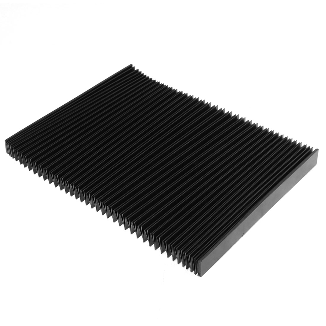 CNC Machine Stretchy Rubber Accordion Dust Cover Protector Black