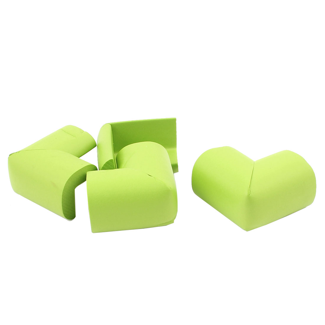 Baby Safety Desk Table Corner Soft Cushion Cover Protector Pad Green 4pcs