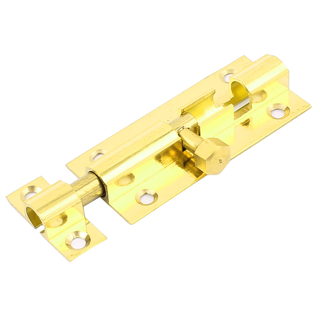 "Door Windows Latch Barrel Bolt Security Lock 2"" Brass Tone"