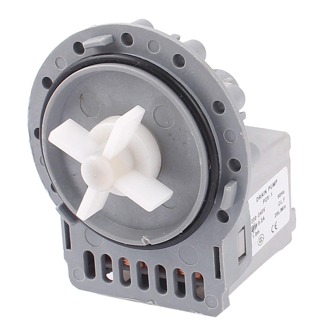 AC 220-240V 50Hz 0.2A 20W Household Washing Machine Water Drain Pump