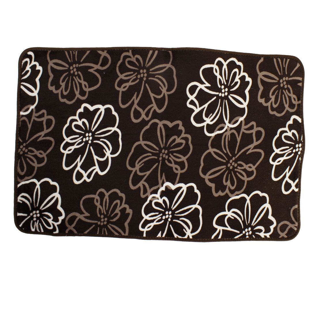 Transitional Flowers Pattern Floor Mats Area Rugs Carpets Footcloths 50 x 80cm