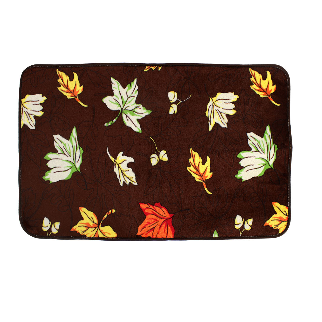 Maple Leaf Pattern Floor Mats Area Rugs Carpets Footcloths 50 x 80cm