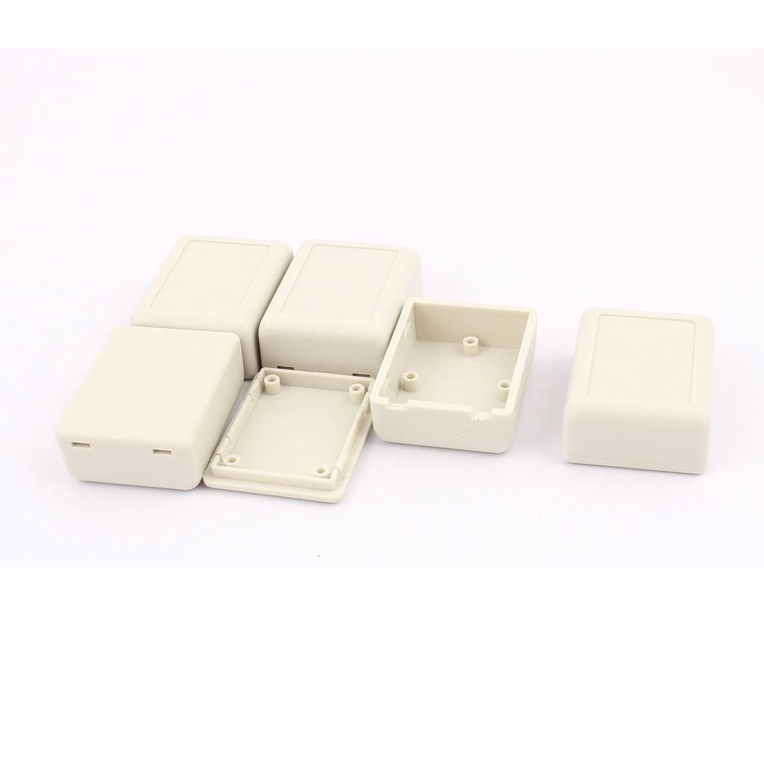 46x36x18mm Dustproof IP65 Plastic Enclosure Case DIY Junction Box 5Pcs